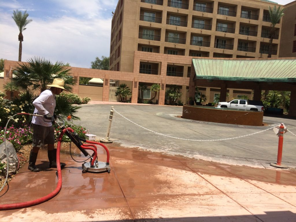 Concrete Cleaning, Staining And Sealing