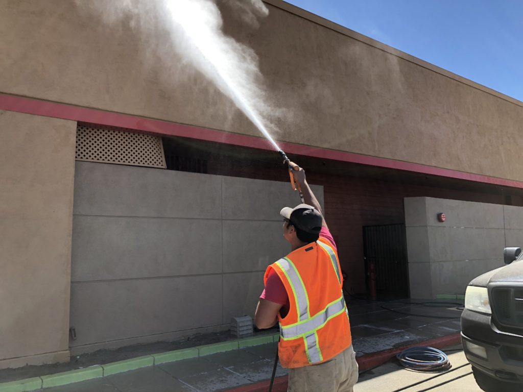 Commercial Power Washing and Building Cleaning